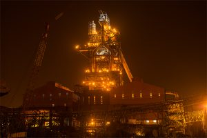 Blast Furnace, Tata Steel Kalinganagar - Night View